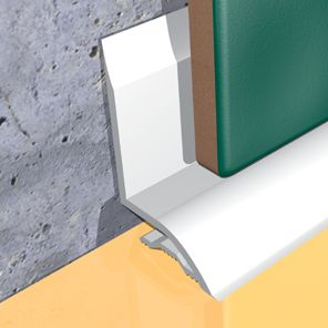 P.V.C. Seal Plus : Floor and Wall Solutions - Corner Guards, Stair Nosings, Metal Skirtings, Tile trims and edge protection profiles